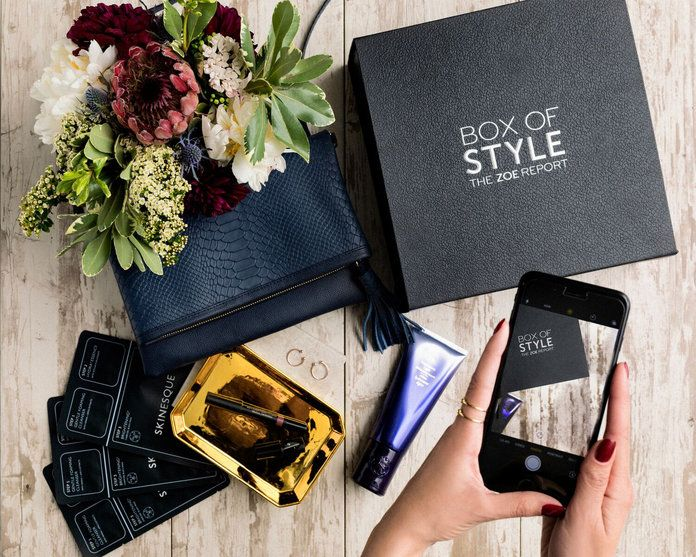 กล่อง of Style: The Zoe Report