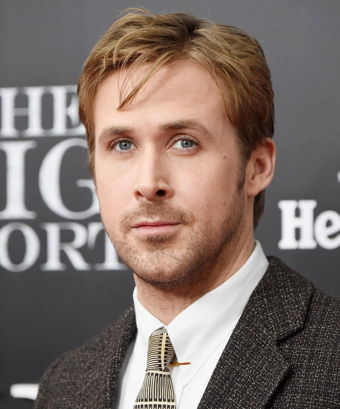नया YORK, NY - NOVEMBER 23: Actor Ryan Gosling attends the premiere of