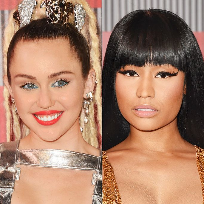 ไมลีย์ Cyrus and Nicki Minaj