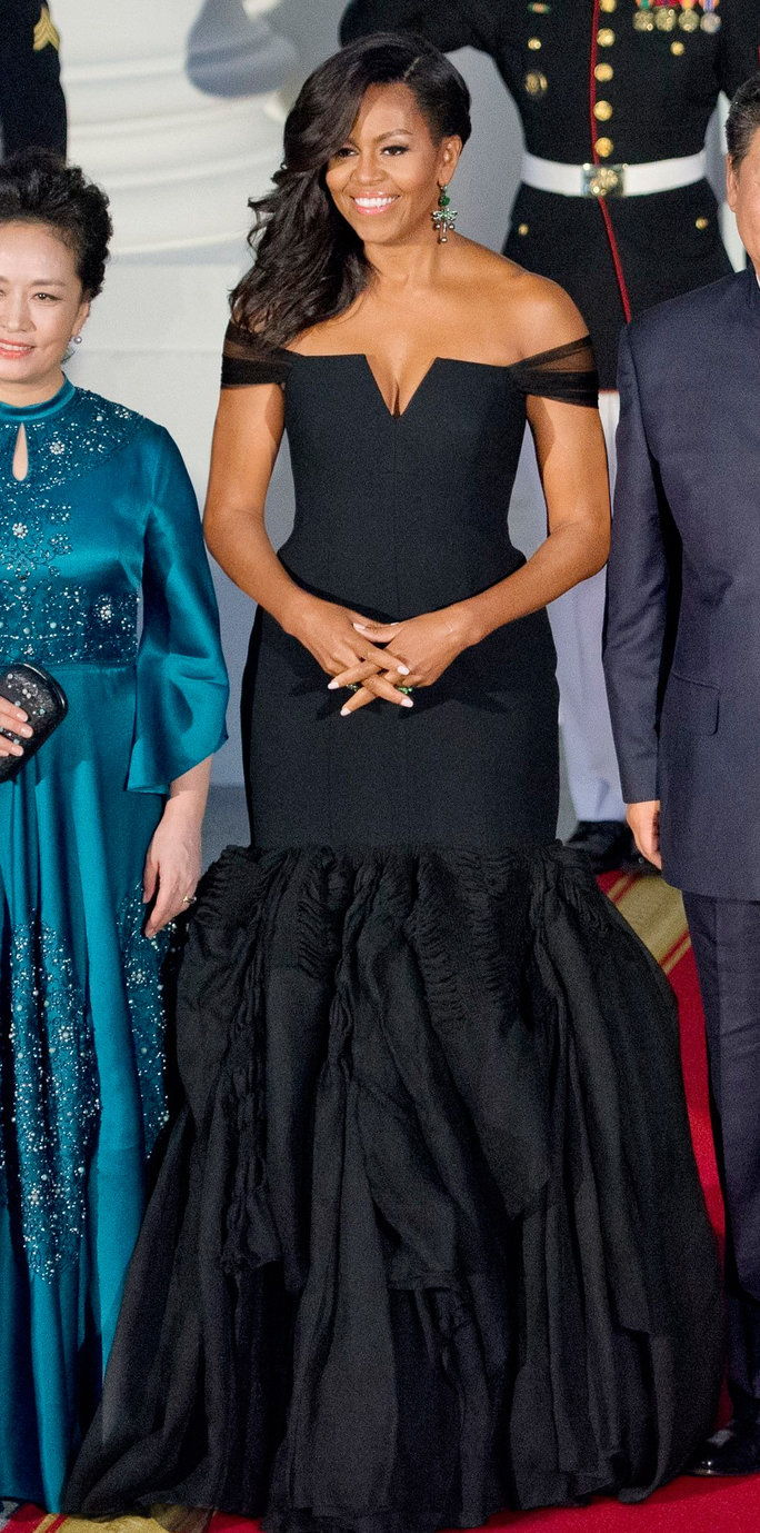MICHELLE OBAMA'S GLAM NIGHT