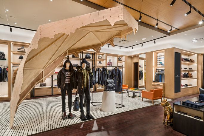 Second Floor: Men's Ready-to-Wear