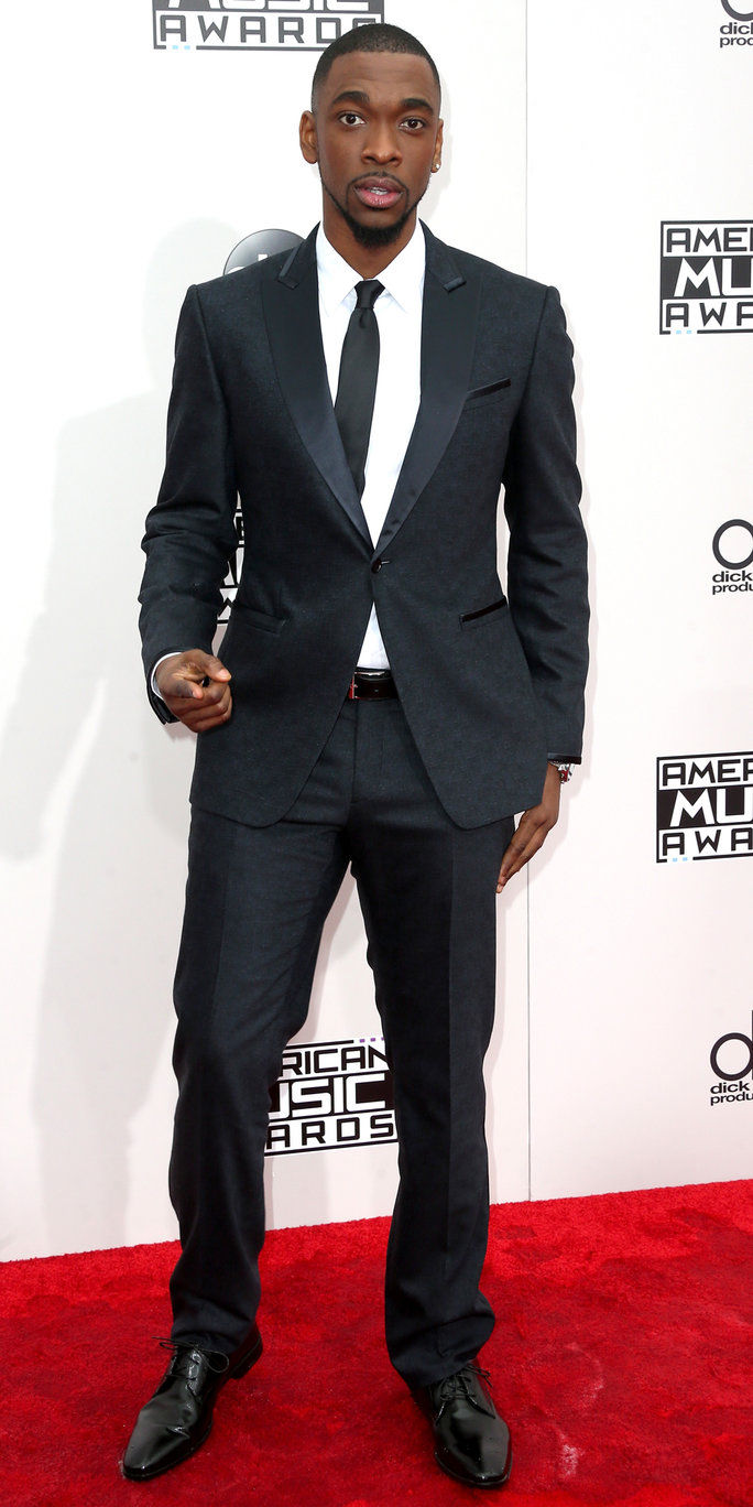 अभिनेता Jay Pharoah attends the 2016 American Music Awards at Microsoft Theater on November 20, 2016 in Los Angeles, California.