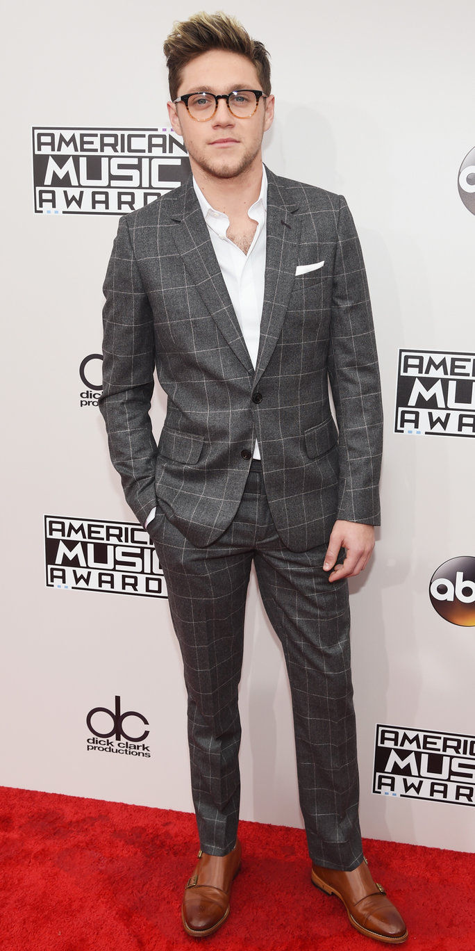 गायक Niall Horan attends the 2016 American Music Awards at Microsoft Theater on November 20, 2016 in Los Angeles, California.