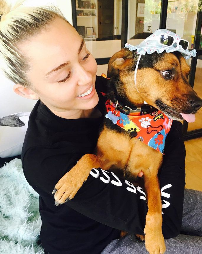 MILEY AND HAPPY