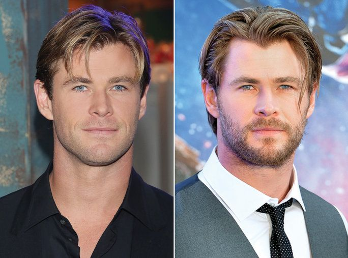 เครา or No Beard - Chris Hemsworth