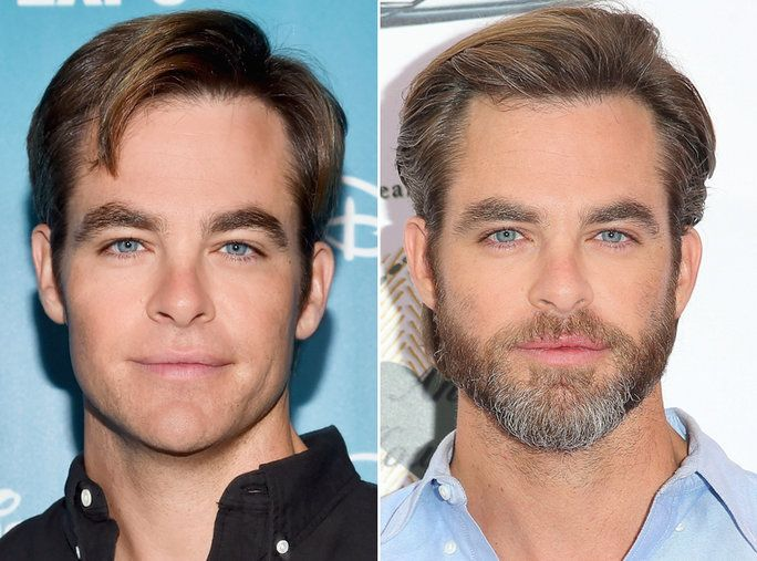 เครา or No Beard - Chris Pine