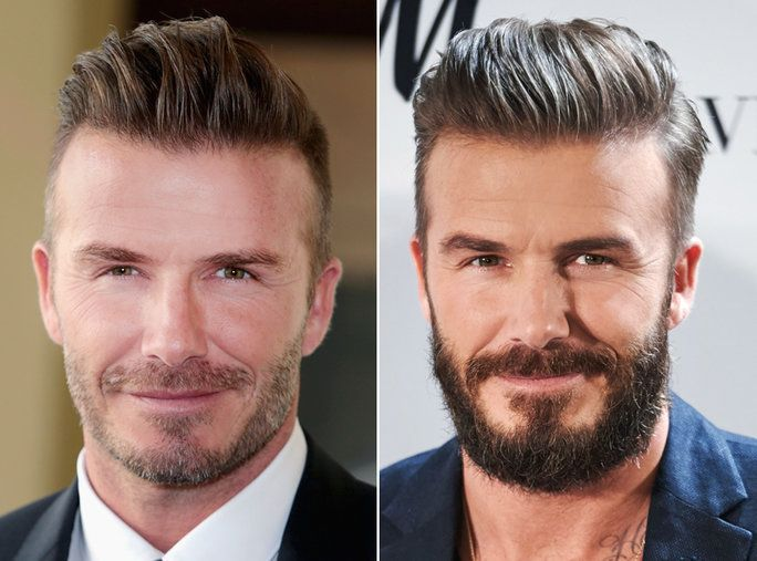 เครา or No Beard - David Beckham