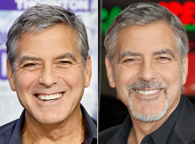 เครา or No Beard - George Clooney