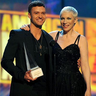 जस्टिन Timberlake and Annie Lennox, American Music Awards