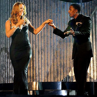 Mariah Carey and Nick Cannon, American Music Awards