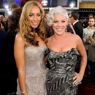 Leona Lewis and Pink