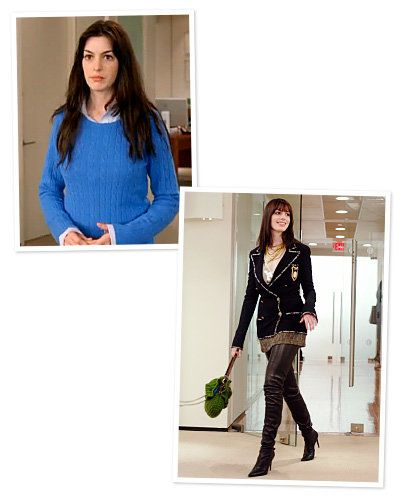 Devil Wears Prada - Anne Hathaway - Best Movie Makeovers