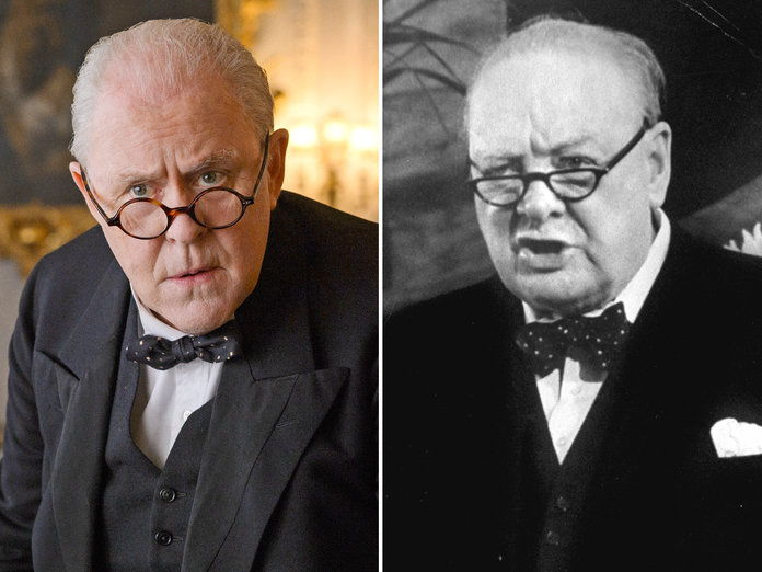 जॉन Lithgow as Winston Churchill