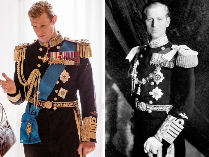 मैट Smith as Prince Philip