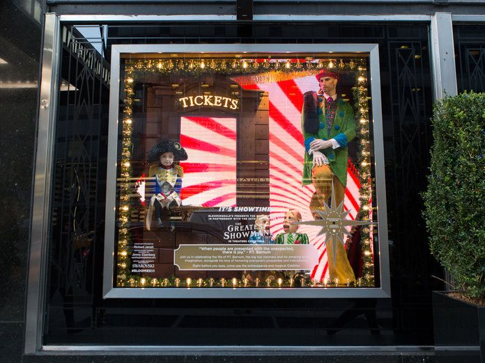 Bloomingdales Holiday Window 2017 - Slide