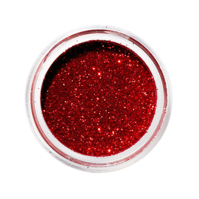 Mehron Paradise AQ Glitter in Red