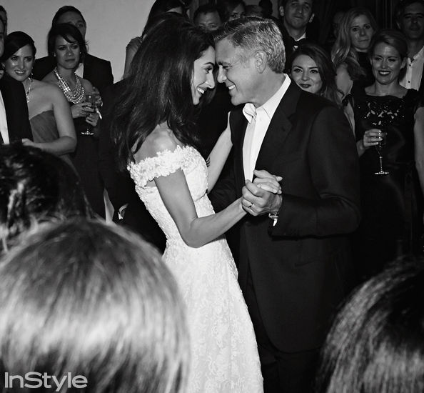 จอร์จ Clooney and Amal Alamuddin Wedding Photo Album