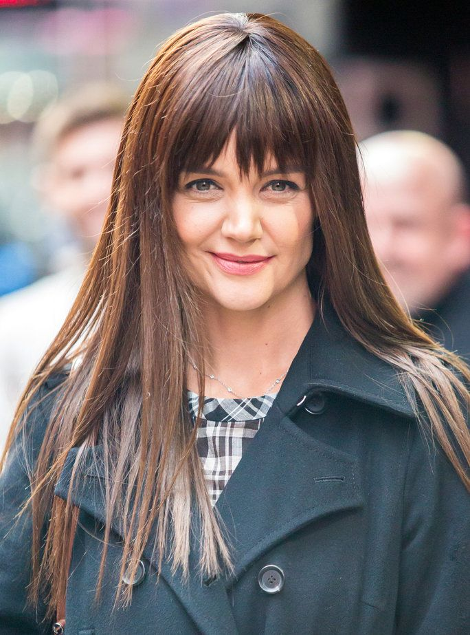 केटी Holmes New Bangs - Embeds