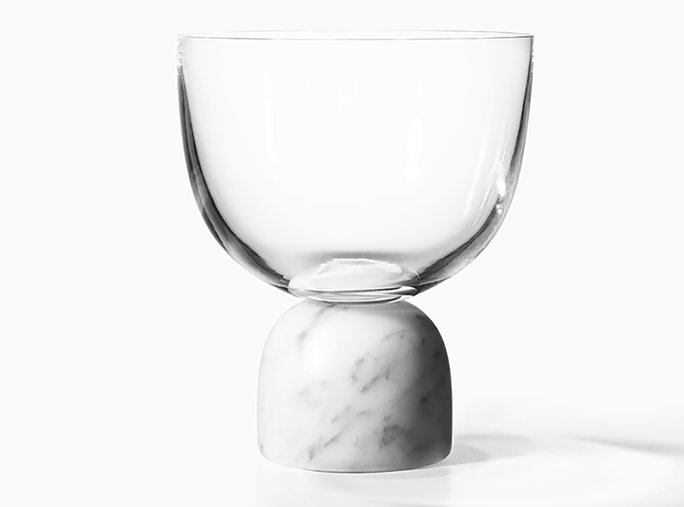 पर the Rock Wine Glass