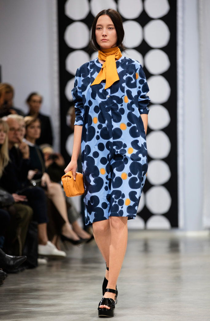 अन्ना Teurnell's Debut Collection for Marimekko