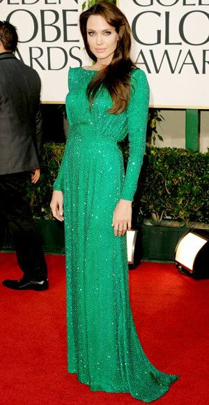 แองเจลิ Jolie - The Best Golden Globes Gowns of All Time - Atelier Versace