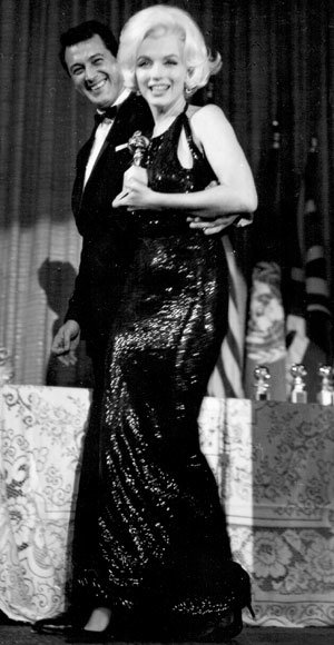 มาริลีน Monroe - The Best Golden Globes Gowns of All Time - Norman Norell