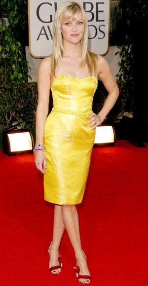 รีส Witherspoon - The Best Golden Globes Gown of All Time - Nina Ricci