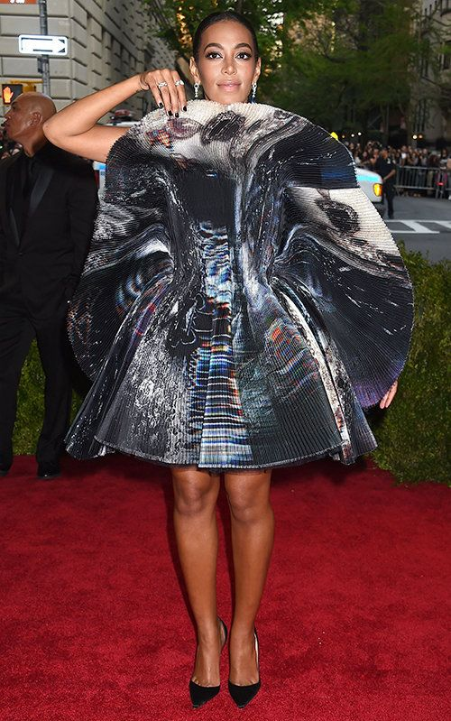 Solange Knowles in Giles