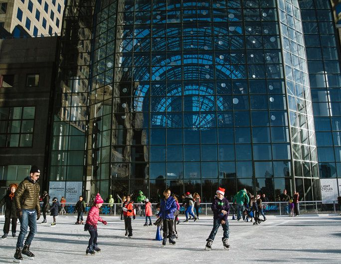 Rink at Brookfield Place with Gregory & Petukhov