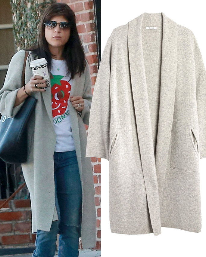 सेल्मा Blair in Madewell sweater coat
