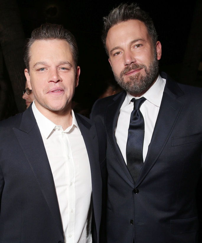 मैट Damon and Ben Affleck