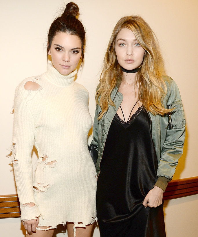 केंडल Jenner and Gigi Hadid