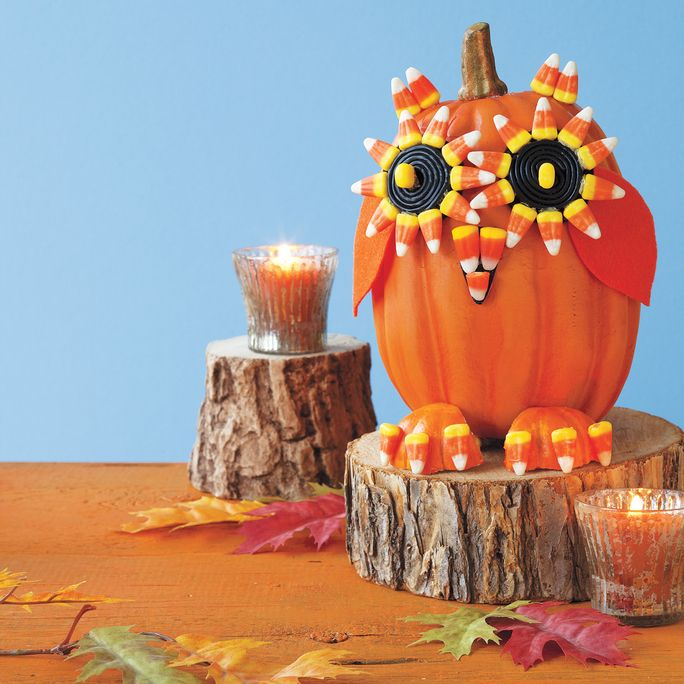 नो-उत्कीर्ण Halloween Pumpkin Decorations