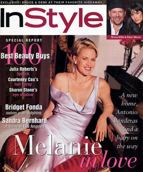 InStyle Covers - March 1996, Melanie Griffith