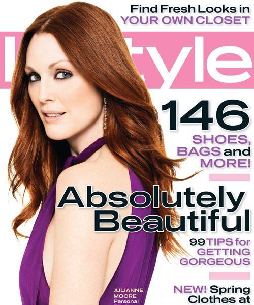 InStyle Covers - March 2006, Julianne Moore