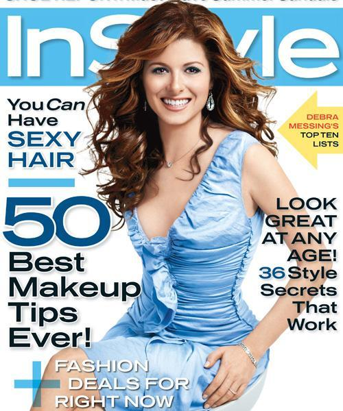 InStyle Covers - May 2006, Debra Messing
