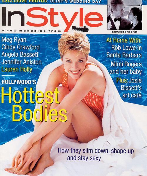InStyle Covers - June 1996, Lauren Holly