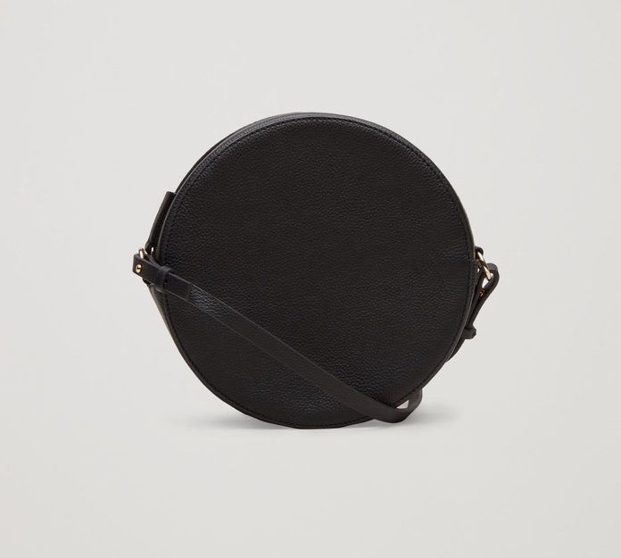 cos Suede Shoulder Bag