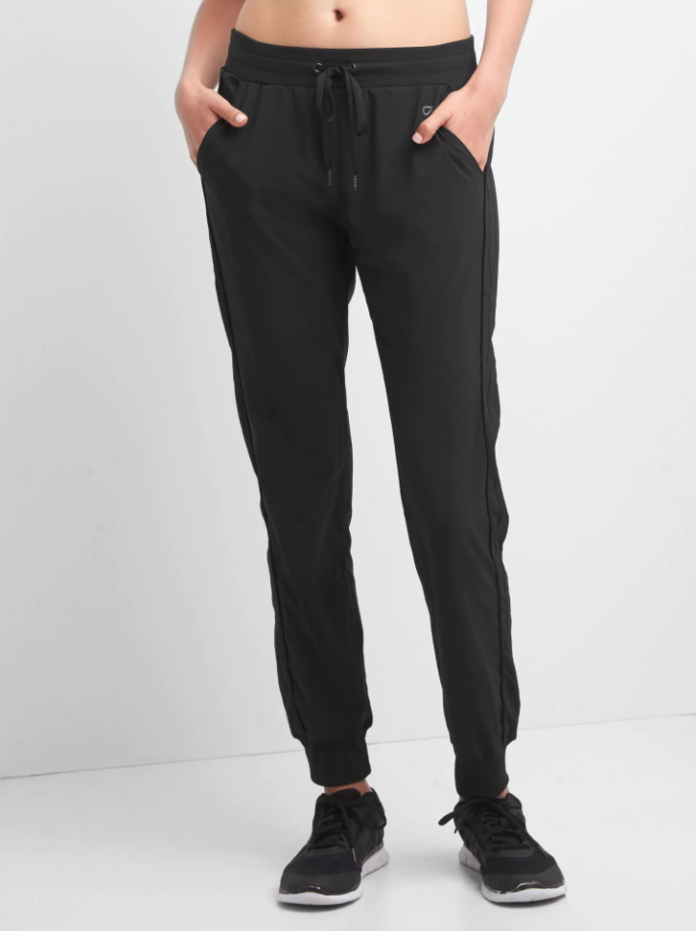 अन्तर Studio stripe-panel joggers