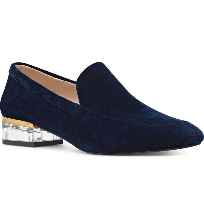 เก้า West Umissit Clear Heel Loafer