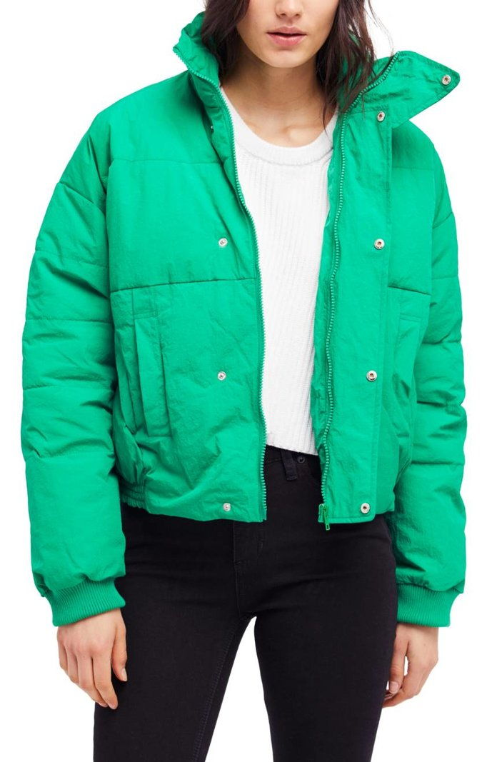 मुक्त People Cold Rush Puffer Jacket