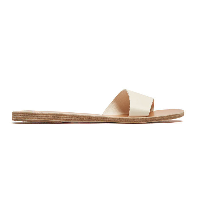 प्राचीन Greek Sandals Leather Slides
