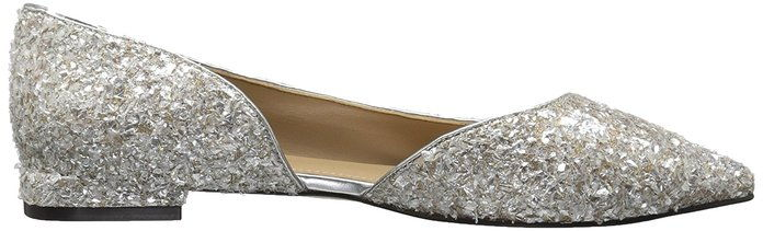 Fix Emma Pointed-Toe D'Orsay Ballet Flat