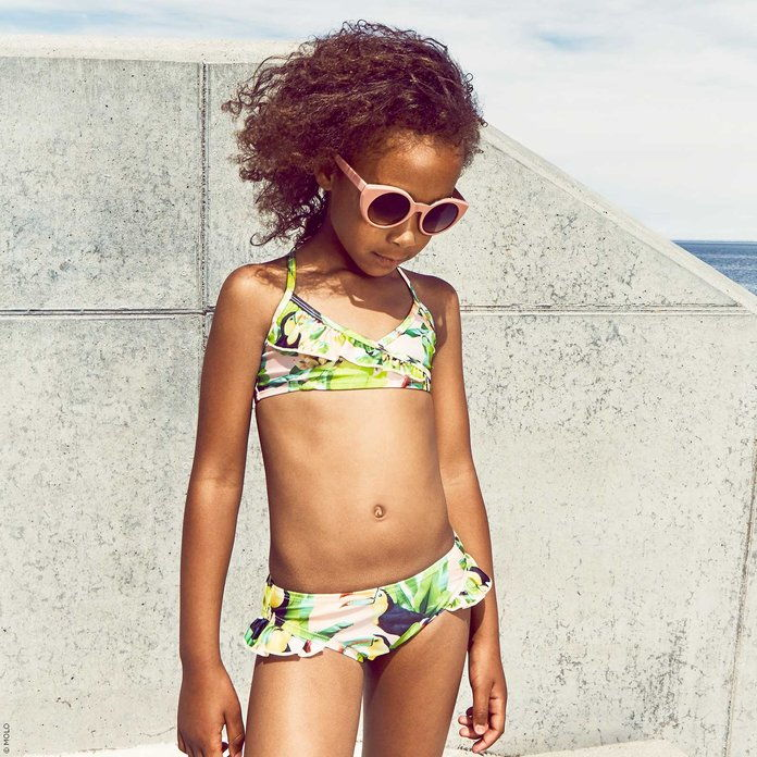 Molo UV protection printed bikini Norma