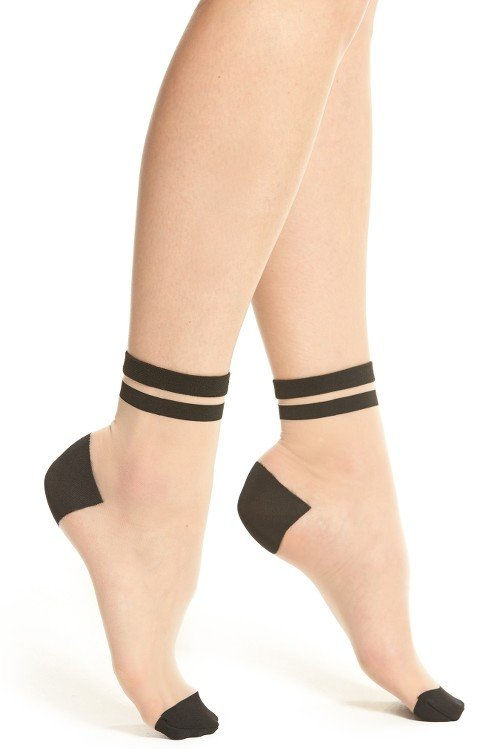 DKNY 2-Pack Sheer Ankle Sock