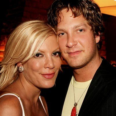 Tori Spelling and brother Randy Spelling