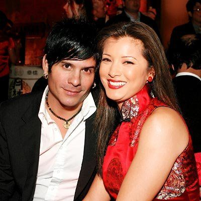 अभिनेत्री Kelly Hu and SR-71 front man Mitch Allan