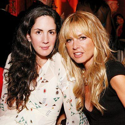 पेट्रीसिया Herrera and stylist Rachel Zoe