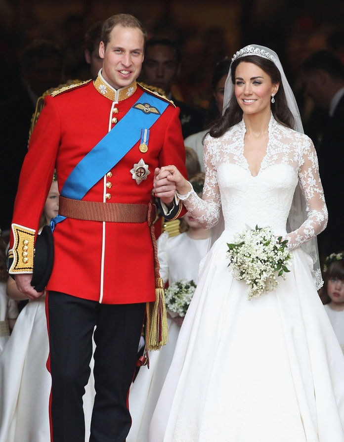 राजकुमार William and Kate Middleton wedding embed