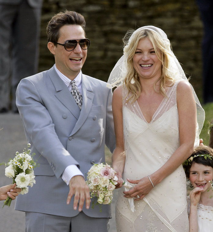 เคท Moss and Jamie Hince - Wedding